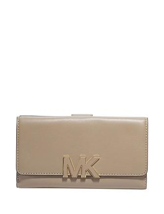 Michael Kors Florence Large Logo Front Trifold Wallet