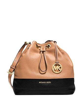 Michael Michael Kors Jules Large Colorblock Drawstring Shoulder Bag