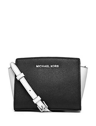 Michael Michael Kors  Selma Colorblock Mini Messenger
