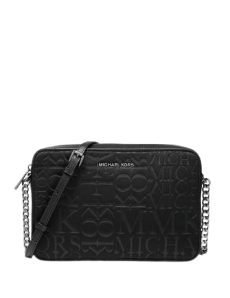 Michael Michael Kors Neoprene Logo Large Crossbody