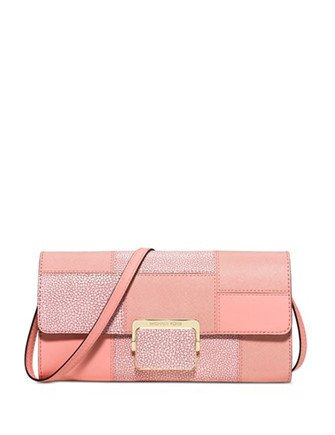 Michael Michael Kors Cynthia Large Patchwork Clutch
