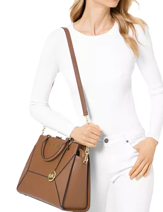 Michael Michael Kors Prism Saffiano Leather Satchel