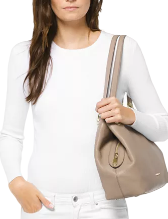 Michael Michael Kors Raven Pebble Leather Tote