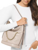 Michael Michael Kors Reese Large Leather Shoulder Bag