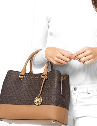 Michael Michael Kors Savannah Signature Satchel