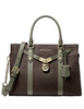 Michael Michael Kors Signature Nouveau Hamilton Large Leather Satchel
