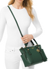 Michael Michael Kors Sullivan Small Convertible Top Zip Leather Tote