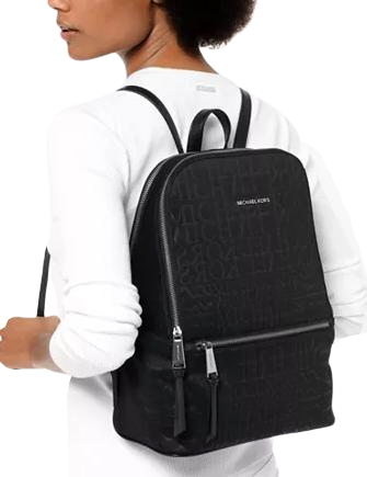 Michael Michael Kors Toby Neoprene Logo Backpack