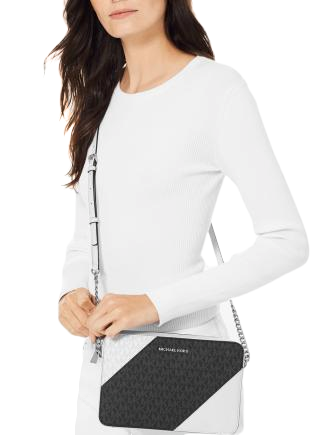 Michael Michael Kors Tricolor Signature East West Crossbody