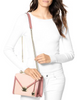 Michael Michael Kors Whitney Bicolor Leather Shoulder Bag
