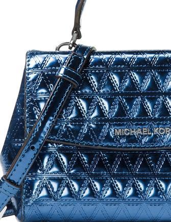 Michael Michael Kors Ava Mini Metallic Crossbody