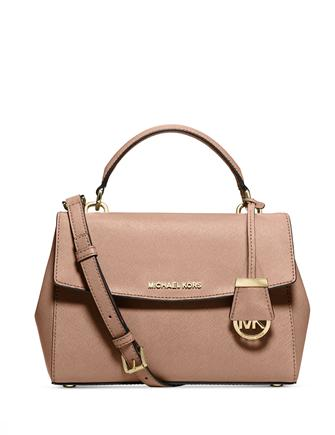 Michael Michael Kors Ava Small Saffiano Top Handle Satchel
