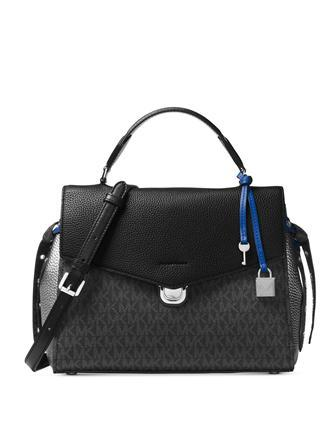 Michael Michael Kors Bristol Signature Medium Top Handle Satchel