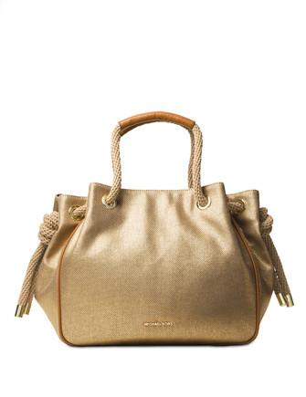 Michael Michael Kors Dalia Large Canvas Shoulder Tote