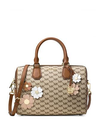 Michael Michael Kors Flora Applique Mercer Medium Duffel