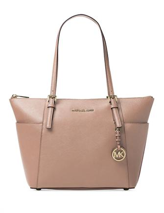 160a489564d9 Michael Michael Kors Jet Set Item Large East West Top Zip Tote ...