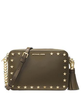 7f7be9a5a39f Michael Michael Kors Medium Star Studded Camera Bag