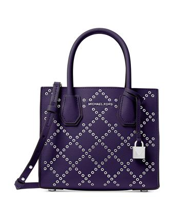 Michael Michael Kors Medium Mercer Grommet Messenger