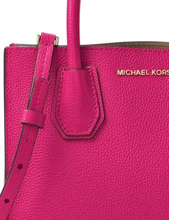 Michael Michael Kors Mercer Medium Bonded Leather Crossbody