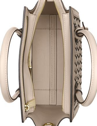Michael Michael Kors Mercer Woven Python Embossed Medium Crossbody