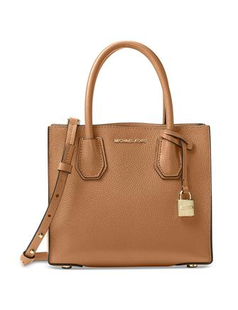 purchase original best prices top-rated professional Michael Michael Kors Mercer Medium Bonded Leather Crossbody