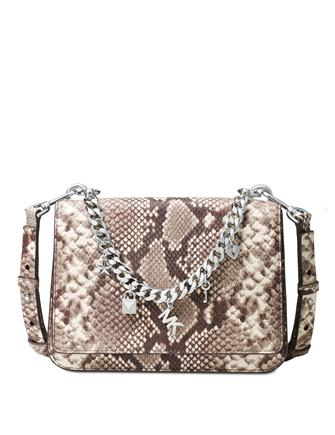 Michael Michael Kors Mott Large Charm Swag Shoulder Bag