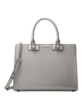 df12ad147df052 Michael Michael Kors Quinn Large Saffiano Leather Satchel | Brixton ...
