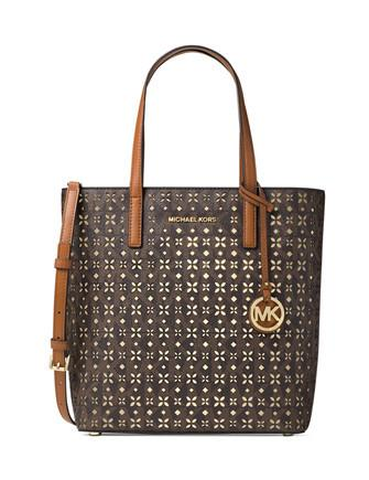 Michael Michael Kors Signature Hayley Med North South Tote