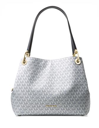 Michael Michael Kors Large Raven Signature Shoulder Tote