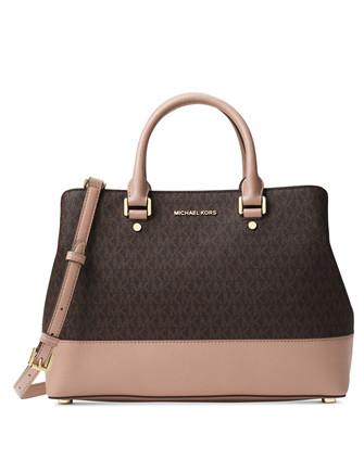 Michael Michael Kors Savannah Signature Large Satchel