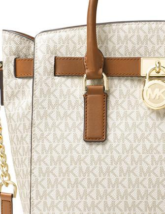 971400989a75 Michael Michael Kors Signature Studio Hamilton Large East West Satchel