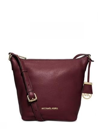 Michael Michael Kors Bedford Medium Leather Messenger