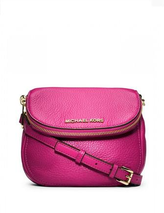 Michael Michael Kors Bedford Pebble Leather Crossbody