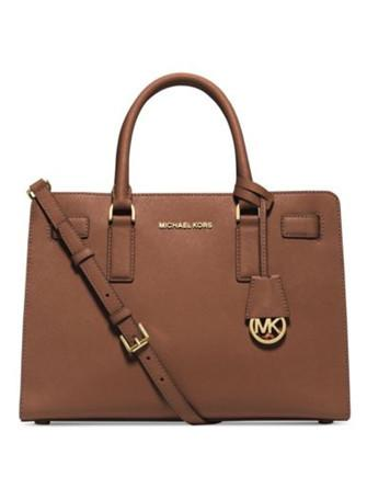 Michael Michael Kors Dillon Saffiano East West Satchel