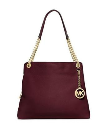 Michael Michael Kors Jet Set Item Large Leather Shoulder Tote