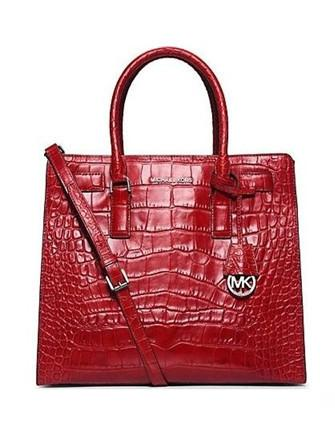 Michael Michael Kors Dillon Large Croc Embossed North South Tote