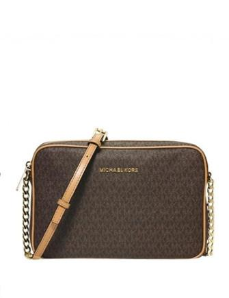 Michael Michael Kors Large Jet Set Signature Crossbody