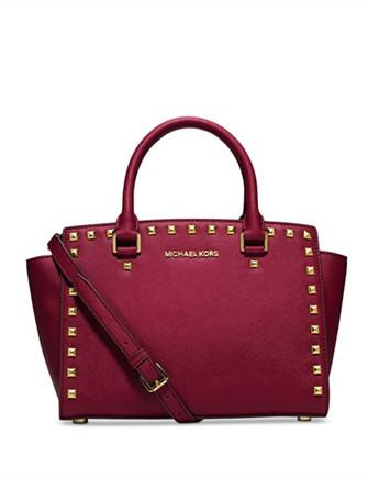 Michael Michael Kors Medium Selma Studded Satchel
