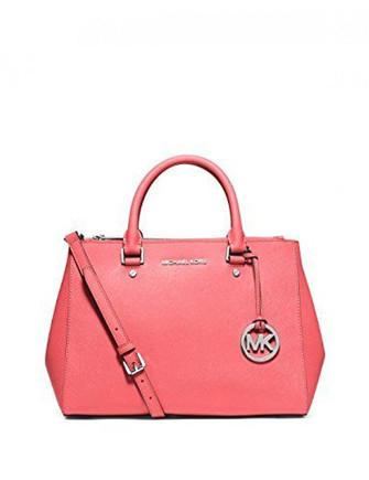 Michael Michael Kors Sutton Zip Top Medium Saffiano Satchel