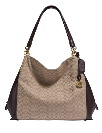 Coach Signature Jacquard Dalton 31 Shoulder Bag
