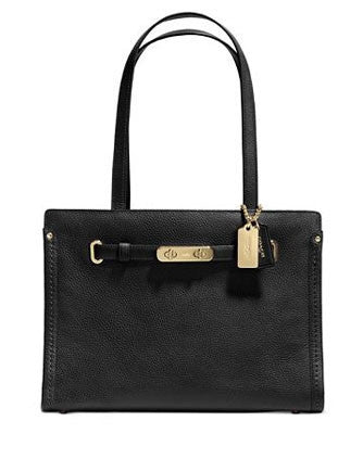 Coach Small Swagger Shoulder Tote in Pebble Leather