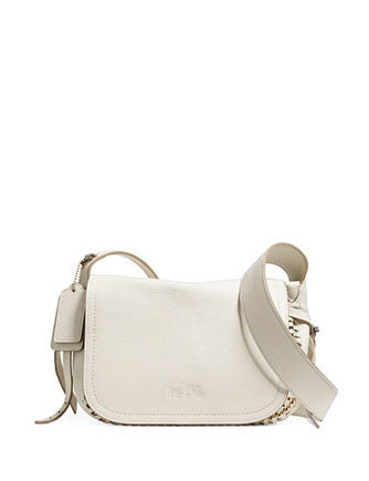 Coach Mini Dakotah 21 Crossbody Whiplash Pebbled Leather