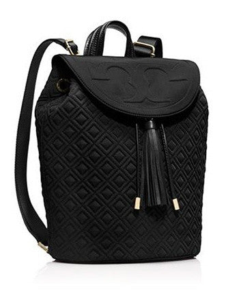 Tory Burch Fleming Quilted Nylon Backpack