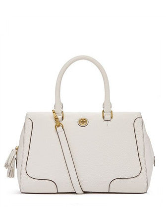 Tory Burch Frances Soft Leather Zip Satchel