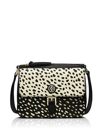 Tory Burch Kerrington Pony Dotted Mini Crossbody