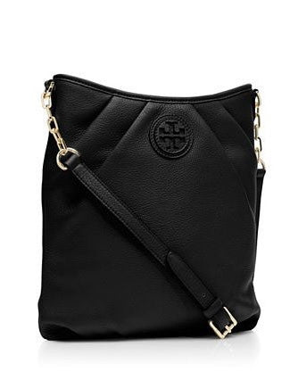 Tory Burch Kolbe Leather Pleated Swingpack Crossbody