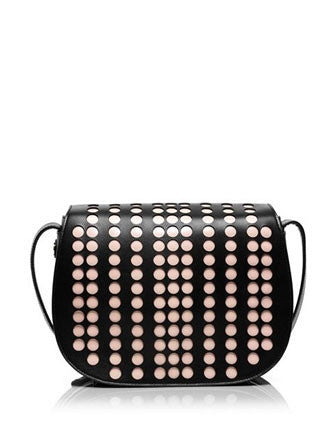 Tory Burch Lily Polka Dot Saddlebag Crossbody