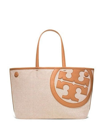 Tory Burch Lonnie Canvas Logo Front Mini Tote