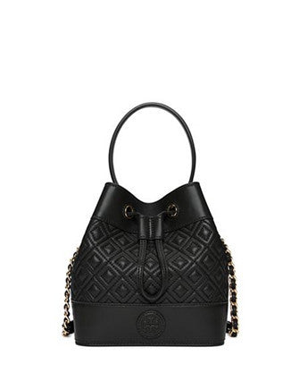 Tory Burch Marion Quilted Leather Mini Bucket Bag Brixton Baker