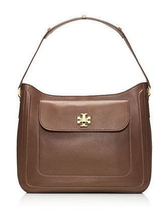 Tory Burch Mercer Leather Slouchy Hobo Bag